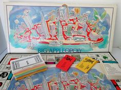 By Cityopoly Big Appleopoly Game New York City etsy.com/shop/collectique