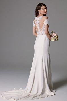 Watters Wedding Dress Seaton (Unlined) - Blush Bridal