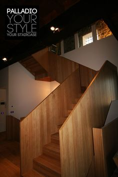 Открытая лестница PALLADIO WOOD DESIGN 2 by Palladio Scale