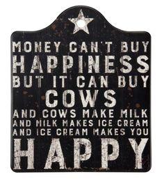 """Trivet - """"Buy Cows"""""""