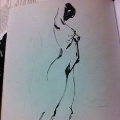 @emersontung's #moleskine and #brush and #ink work is really #sexy