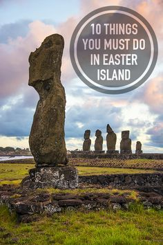 10 Things You Must Do In Easter Island - and it's not all about Moai statues! #travel #EasterIsland