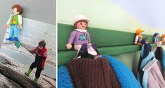 com reciclar figures Playmobil - totnens Deco, Places, Model, Playmobil, Scale Model, Decor, Deko, Decorating, Lugares
