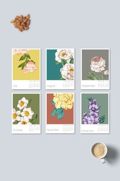 2017 Printable Calendar, 2017 Monthly Calendar by Calendar 2019 Printable, Art Calendar, Desk Calendars, Calendar Design, Creative Calendar, Calendar 2017, Graphic Design Magazine, Magazine Design, Design Poster