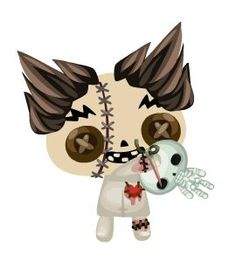 voodoo doll by Pet Society {Playfish}
