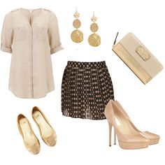 Nude, created by totuguita on Polyvore