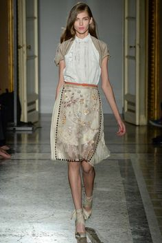 Aquilano.Rimondi at Milan Fashion Week Spring 2015