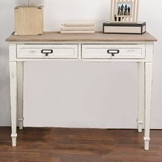 You'll love the Geernium 2 Drawer Writing Desk at Wayfair - Great Deals on all Office  products with Free Shipping on most stuff, even the big stuff.