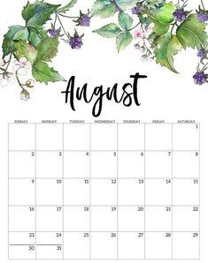2020 Free Printable Calendar – Floral – Paper Trail Design – Office organization at work Cute Calendar, Print Calendar, Calendar Pages, Calendar 2020, Work Calendar, New Year Calendar, Blank Calendar, Floral Printables, Free Printables