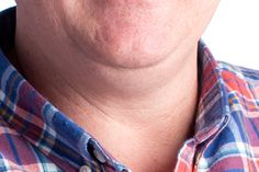 Double Chin.  Bend at the waist and lean forward.  Stand.  Ask the subject to press their tongue firmly against the roof of their mouth, because it will subtly tighten the muscles of the jaw.  Liquify and change the shadows in post.