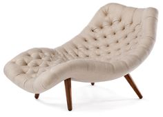 Brasilia Chaise - Seating - Modernica How to Clean Upholstery Ideas Beautiful, cushty furniture make Furniture Upholstery, Cool Furniture, Upholstery Tacks, Upholstery Cleaner, Upholstered Chairs, Upholstery Repair, Furniture Buyers, Modern Furniture, Chaise Lounges