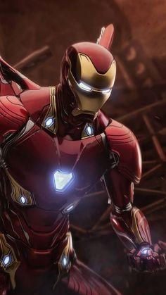 Marvel Comics, Marvel Heroes, Marvel Dc, Iron Man Avengers, The Avengers, Iron Man Kunst, Iron Man Art, Iron Man Wallpaper, Black Wallpaper