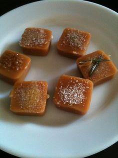Flavored Salt Caramels
