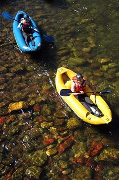 Blazing Adventures inflatable kayaks or Duckies put you in control