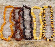 59 inches !!! Beautiful Genuine Baltic Amber Necklace 150 cm
