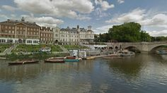 Sail the digital river from Richmond to Woolwich. Richmond Bridge, Richmond Surrey, Richmond Upon Thames, Digital River, Travel England, River Thames, Family History, Sailing, Street View