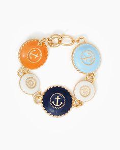 Ship's Wheel Anchor Bracelet   Fashion Jewelry – Nautical Chic   charming charlie