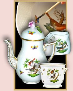 Herend porcelan from Hungary
