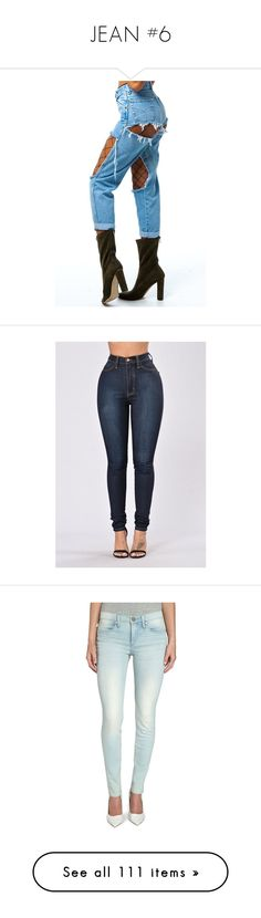 """JEAN #6"" by missk2blue ❤ liked on Polyvore featuring pants, jeans, high waisted skinny jeans, dark denim skinny jeans, high rise skinny jeans, high waisted denim skinny jeans, high rise jeans, light blue, skinny jeans and stretch skinny jeans"