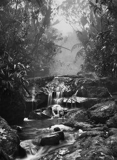 Waterfall Yanomami Sebastião Salgado