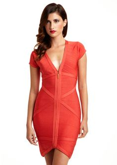 STRETTA Citrus Collette Dress
