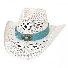 Bullhide Keepin It Real Women's White Straw Cowgirl Hat