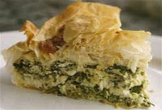 Macedonian Pie of Greens and Cheese | The Culinary ChaseThe Culinary Chase