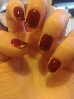 My variant of Royal manicure