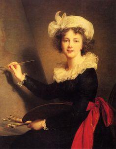 Elisabeth Louise Vigee-Le Brun (Elisabeth Louise Vigee Le Brun) (1755-1842) Self Portrait Oil on canvas 1790 79.248 x 100.076 cm (31.2 x 3 3.4)