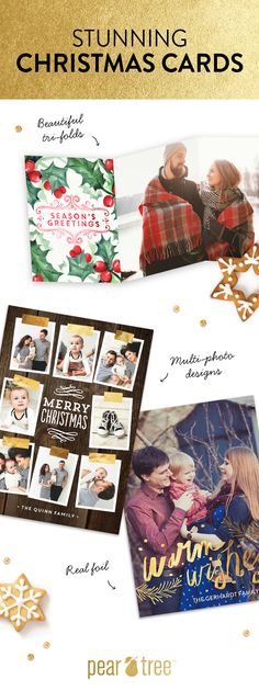 Send seriously stunning Christmas cards this season + save up to $50 off your order with code: SAVEJINGLE. Hurry, ends 12/15/2015. #HolidayCards