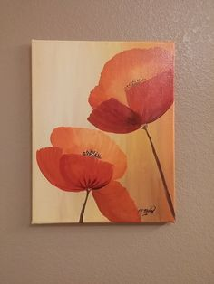Original painting on at https://www.etsy.com/listing/244478607/poppies-painting-hand-painted-wall-art