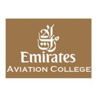 Emirates Aviation College Dubai UAE Logo Logos Design Vector