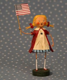 Another cute little figure -- I want to do some paper mache crafting Loving this Gloria Figurine on #zulily! #zulilyfinds