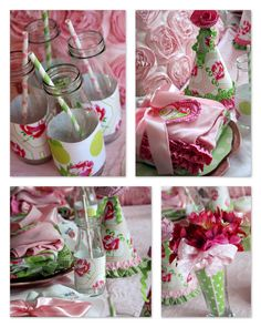 A Little Loveliness: Slumber Party Wrap-Up...what a fun birthday idea. :)