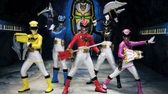 The 'Mighty Morphin Power Rangers' Just Turned 20 and Still Sells $80 Million in Toys