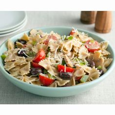 Paula Dean's Italian Pasta Salad...making this for the DJWC Christmas Party :)