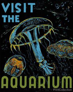 PrintCollection - Visit the Aquarium