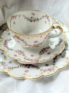 Antique Limoges France Theodore Haviland Tea
