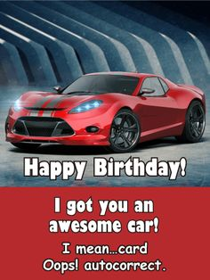 Funny Birthday Card to Loved Ones on Birthday & Greeting Cards by Davia. It's free, and you also can use your own customized birthday calendar and birthday reminders. Birthday Songs, Funny Birthday Cards, Birthday Greeting Cards, Birthday Greetings, It's Your Birthday, Happy Birthday, Card Birthday, Autocorrect Funny, Birthday Reminder