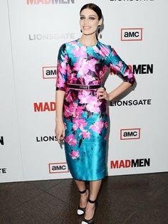 'Mad Men' Star Jessica Pare On Megan Draper's Vintage Fashion
