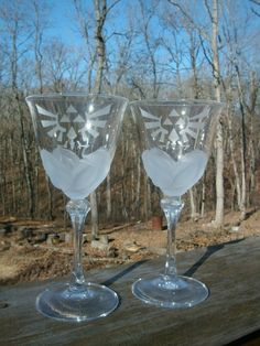 White and Gold Wedding. Etsy. Zelda Wedding Toasting Flutes. White and Gold.
