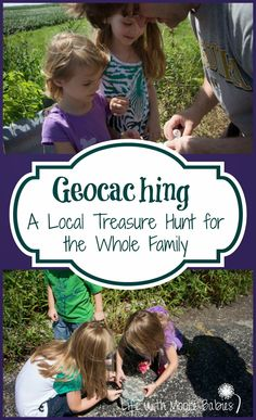 Geocaching - a treasure hunt for the whole family