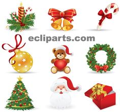 Gallery For > Free Christmas Clipart