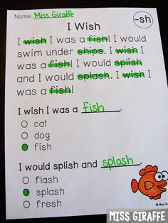 Digraphs Activities for First Grade and Kindergarten Digraphs reading comprehension passages that are perfect for fluency practice while also practicing reading digraphs First Grade Reading Comprehension, Reading Fluency, Reading Passages, Comprehension Strategies, Reading Response, Primary Teaching, Teaching Kindergarten, Teaching Reading, Guided Reading