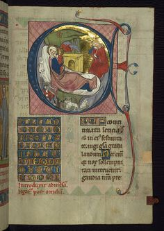 Homilary, The Nativity, Walters Manuscript W.148, fol. 63r