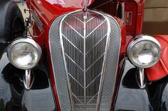 1936 Hudson Terraplane.  This has to be the most exquisite grill in automotive history.