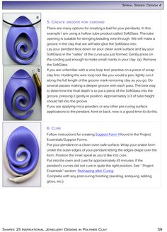 Preview of Spiral Series Design 4 step-by-step instructions for shape-making