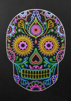 sugar skull neon (88 pieces)
