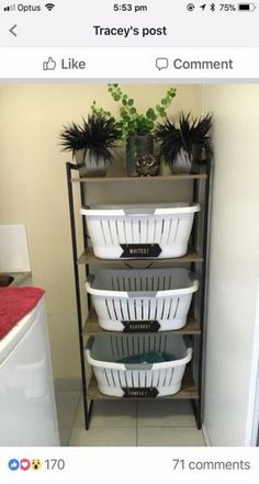 home decor kmart Finding Bathroom Storage For A Small Difficult Bathroom Laundry Decor, Laundry Room Design, Laundry In Bathroom, Bathroom Storage, Bathroom Organization, Kmart Bathroom, Laundry Nook, Kmart Home, Kmart Decor