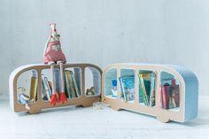 Bussy Cardboard Bookshelf by CardboardFriends on Etsy